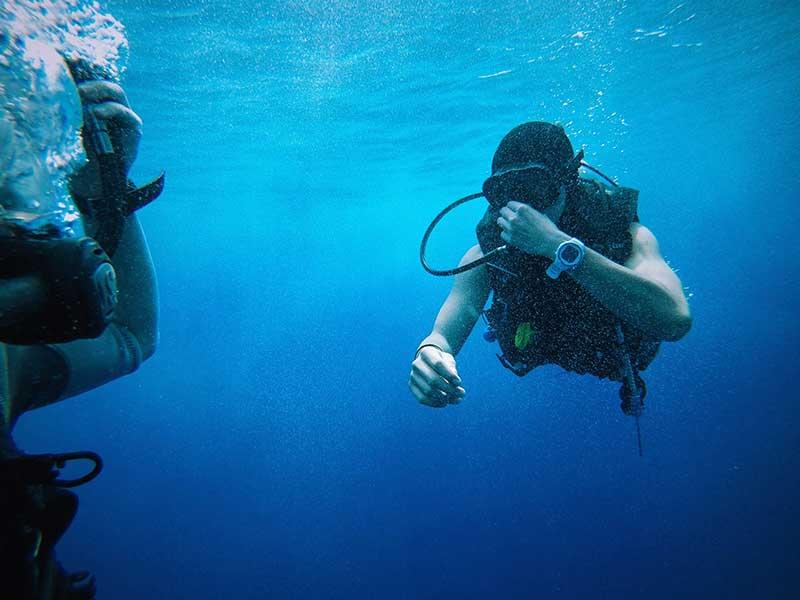 Submarinismo deporte de riesgo
