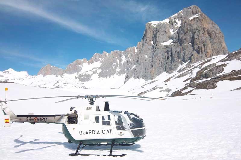 Cobro por rescates en la montaña