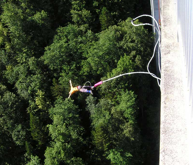 Bungee Jumping deporte de riesgo