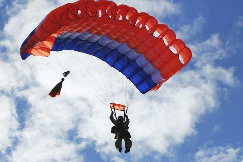 Paracaidismo deporte de riesgo